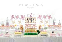 RIA 89 7fm Dj KC & Fiza O Wedding by D' Artisans