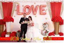 The Wedding Of Delvin & Ellen by Indigo Photobooth