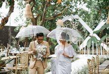 Intimate Wedding of Milka & Jefta by Obong Management