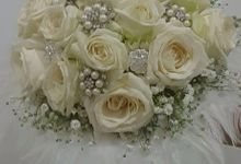White Collection Bridal Bouquet by Amaryllis Floral Art
