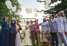 Wedding Of Angga & Mila by Darmawan Park Celebration Venue Collection