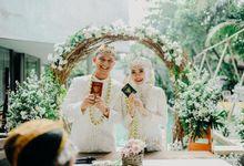From the wedding Adhelia & Bobby by flattyglamweddingorganizer