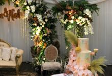 Harvi Kautsar Satwika & Yulan Fazrie's Wedding  by Fleur by Raja