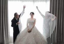 Alitroy And Stefani Wedding Day by Convertibledress