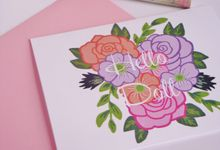 wedding note cards by Fancy Paperie