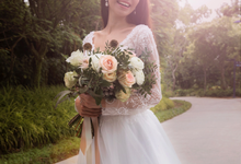 Styled shoot with YSM photography  by Florals Actually