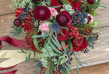 A's bridal bouquet  by Florals Actually