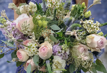 Shades of pastels for S  by Florals Actually