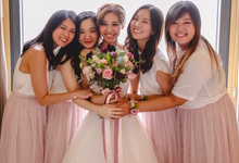Jasmine's bridal bouquet  by Florals Actually