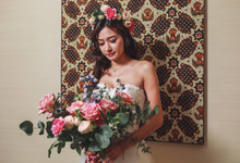 Boutique photoshoot with Vivian Gown by Florals Actually