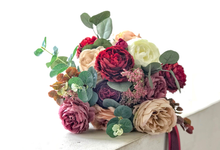 Eternity range - Faux bouquet in vintage hues  by Florals Actually