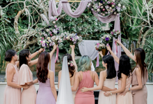 J & V's Wedding  by Florals Actually
