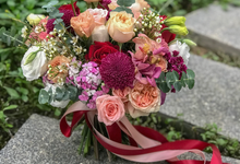 Vibrant Bouquet for a Styled Shoot  by Florals Actually