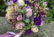 Lavender theme for Bride A by Florals Actually