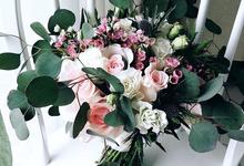 Bridal Handbouquet by Florist By HaejaBudiman