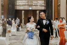 R+V Wedding (evening reception) by Flower Getaway