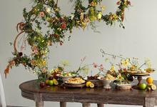 Prewedding Photoshoot Decor by Flower Getaway