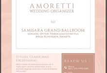 Venue Collaboration by Amoretti Wedding Planner