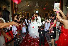 Jhong & Jhomz  by AA Wedding Essentials Provider