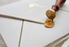 Johan & Merry Royal invitation Wedding by Fornia Design Invitation