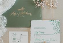 Ana Octarina & Adiebaron by Fornia Design Invitation