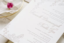 Kenneth & Novita's Invitation by Fornia Design Invitation
