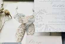 Ina & adhityo by Fornia Design Invitation