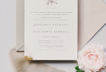 Jonathan & Risa by Fornia Design Invitation