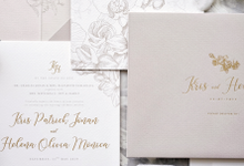 Kris & Helena by Fornia Design Invitation