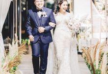 The Wedding of  Winston & Inez by Bloom Gift