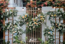 The Wedding of Astri & Edp di Cafe Manglayang by Decor Everywhere