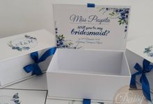 Bridesmaid Custom Box by Daisy Hamper