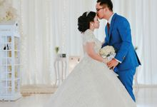 The Wedding of Fanny  & Aji by alienco photography