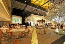 THE WEDDING OF DANIEL & CYNTHIA 30 SEPTEMBER 2017 by Thamrin Nine Ballroom