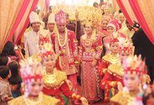 The Wedding  of Fenny & Rizal by Foto Wedding Bandung