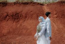 Prewedding - Riyya & Adhrian by Vaxlera