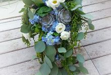 Succulent Chosen By Florist For Wedding Decor by House of Succulent