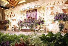 STEFANIE & RADIT - FIRST WEDDING RECEPTION by Promessa Weddings