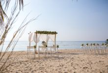 December Wedding on Koh Phangan by Beach Weddings Koh Phangan