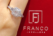 Custom Designed Wedding and Engagement Rings by Franco Jewellers