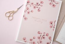 CHERRY BLOSSOM by BloomingDays Invitation Studio