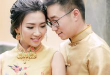 Alvin and Imelda : Gold-Themed Sangjit Ceremony by Fernand Chrisgerald