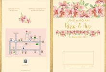 Desain Undangan Rissa dan Aip by ideberideproject