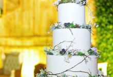 The Wedding Of William & Maria by Amor Cake