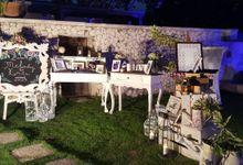 Welcome Table by Nika di Bali