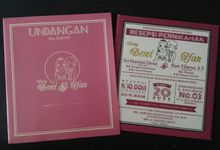 Dewi - Ifan (Maroon Invitation) by Elderco.id