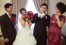 the wedding of Budi & Stephanie - 30 Juni 2013 by Full House the organizer & entertainment