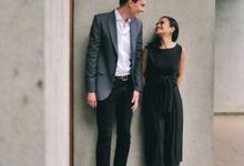 A&C Part 1 - Pre-wedding Journey by Ainslie Days