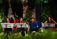 The Wedding of Indah & Audy by Jardin Music Entertainment