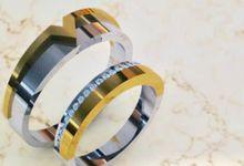 Wedding Ring for Wilson and Steffhany by O N E L O V E  J E W E L R Y